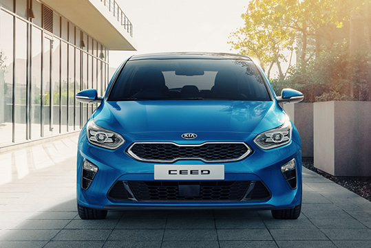 Ceed front